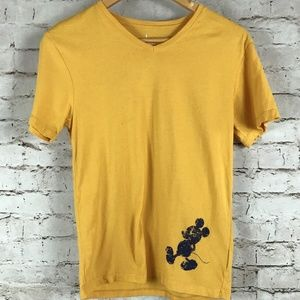 Men's Short Sleeve Disney Mickey Mouse T-Shirt